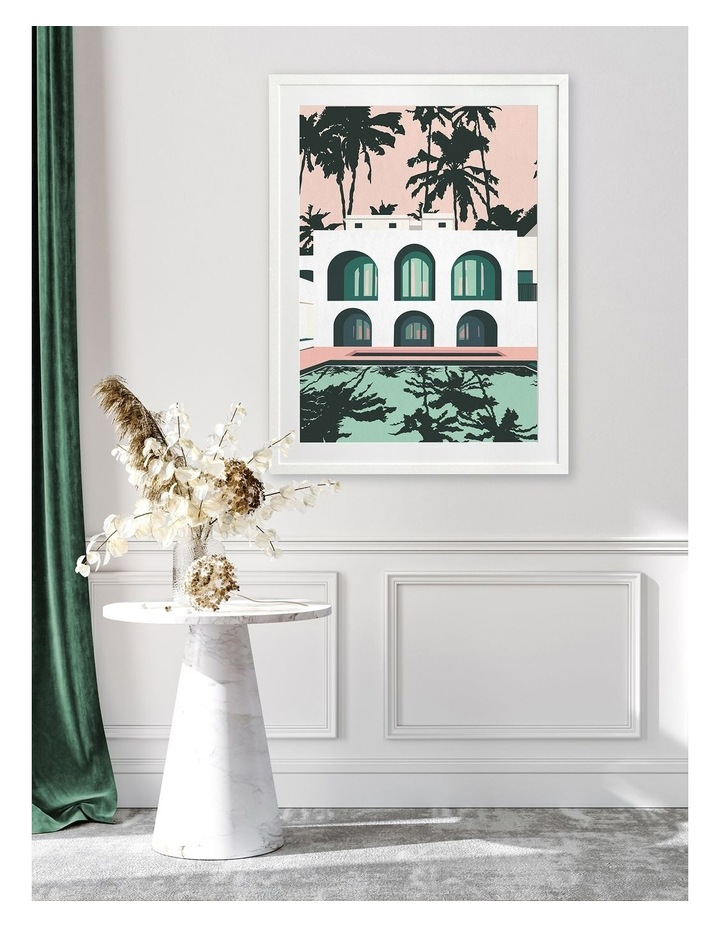 Real Housewives Print White Frame image 2