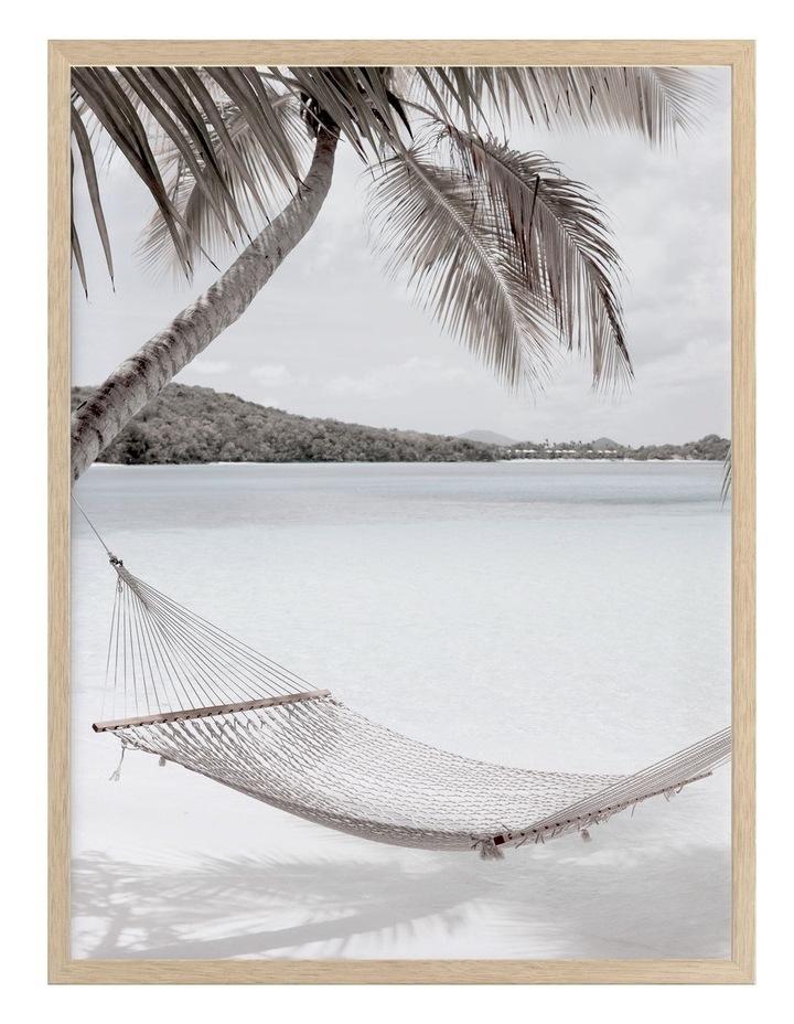 Rest Easy Print Oak Frame image 1