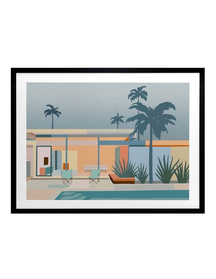 Serenity Street Print Black Frame image 1