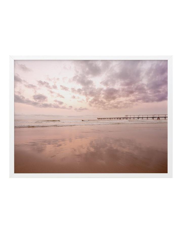 The Pier Print White Frame image 1