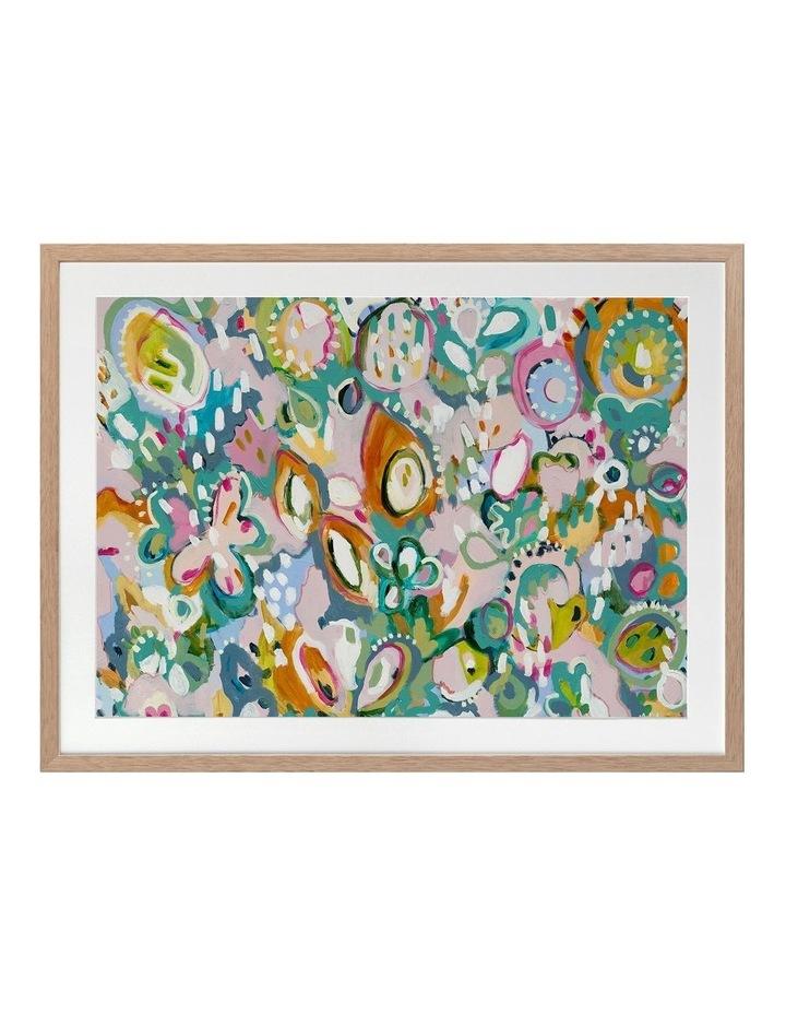 Tutti Frutti Print Oak Frame image 1