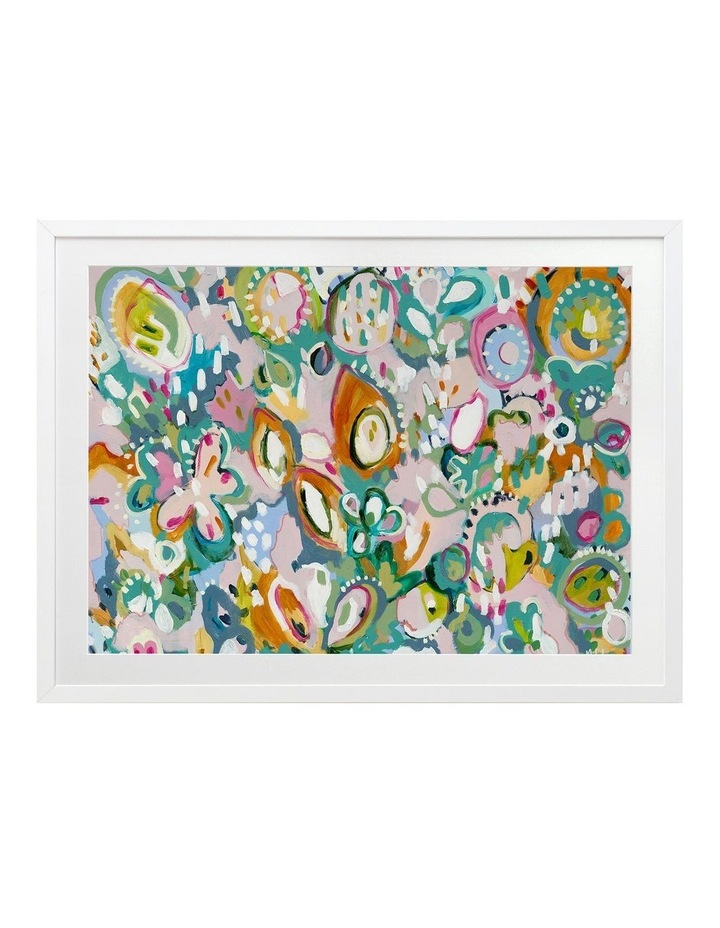 Tutti Frutti Print White Frame image 1