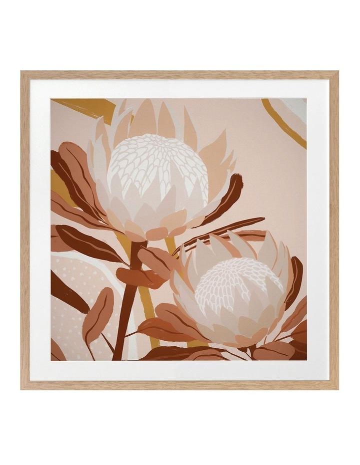 Autumnal Australis Print Oak Frame image 1