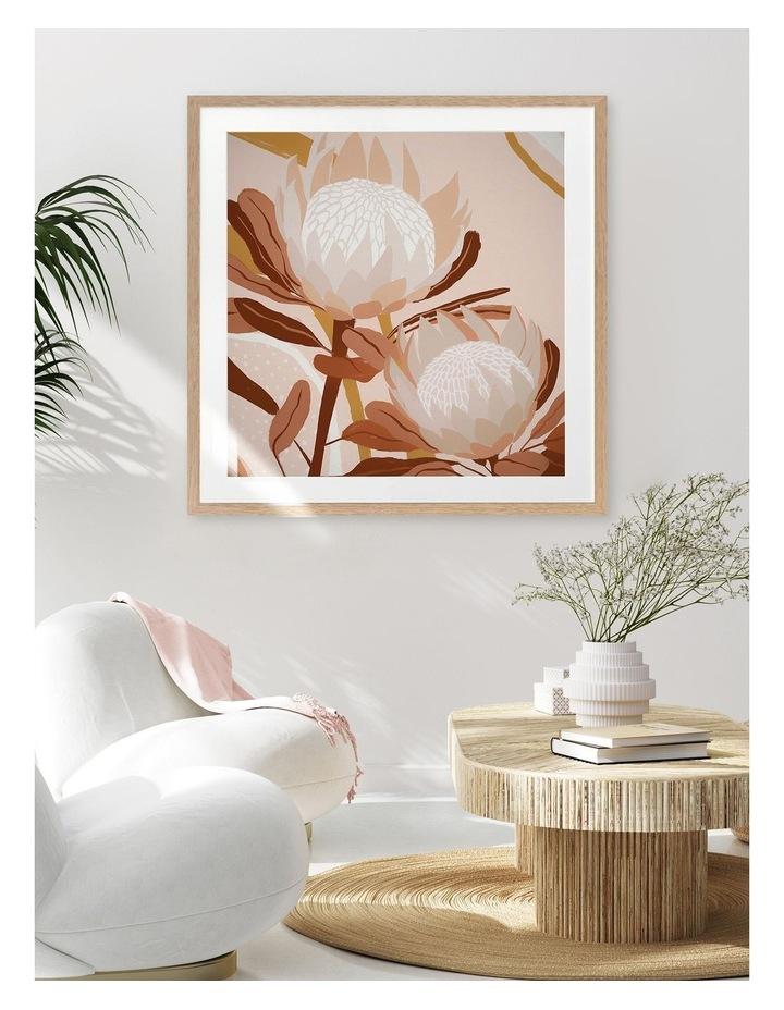 Autumnal Australis Print Oak Frame image 2