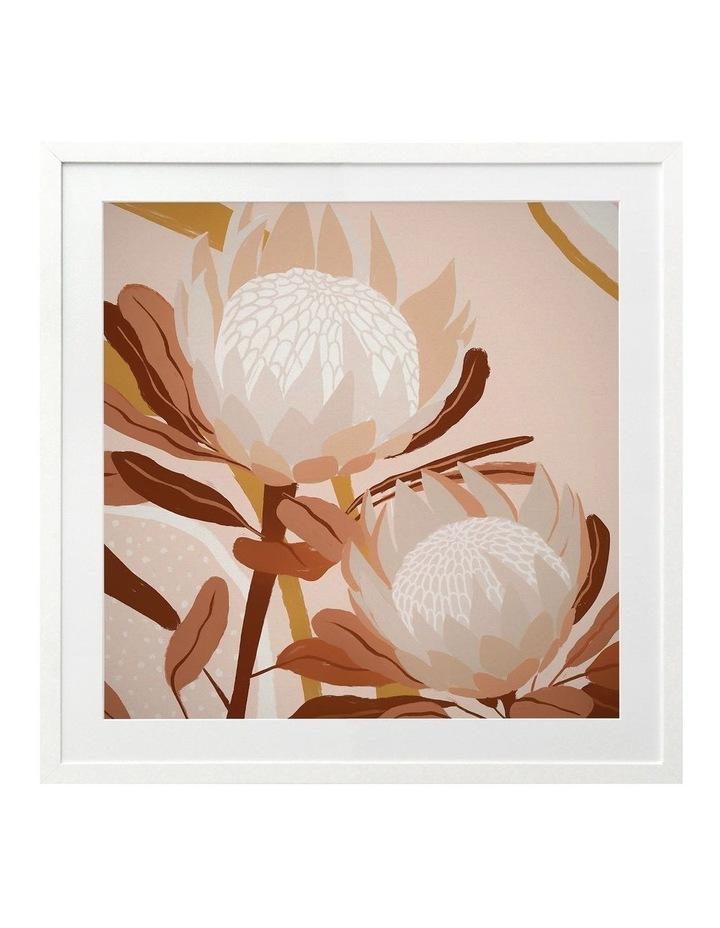 Autumnal Australis Print White Frame image 1