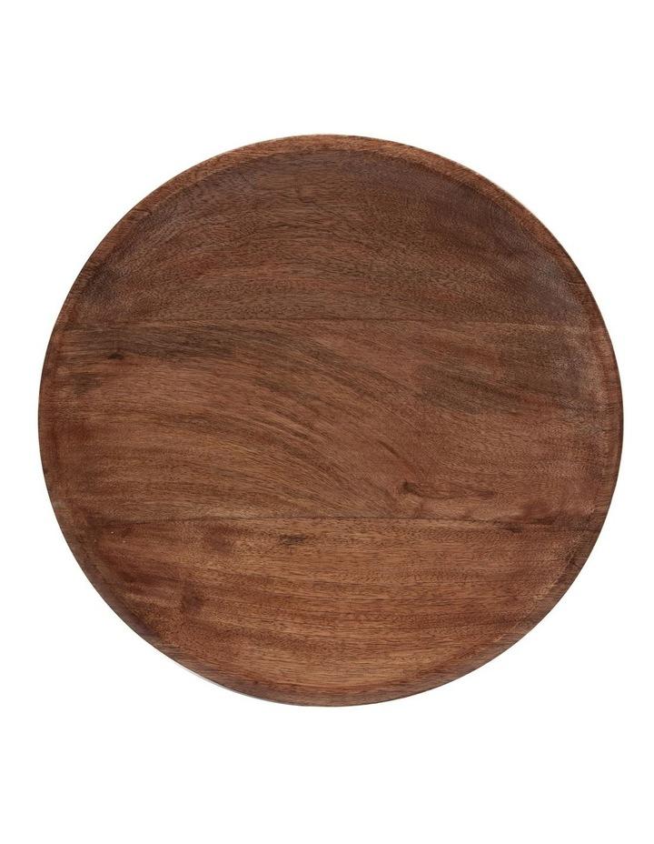 INDRIYA Platter - 38cm - Mango Wood image 2