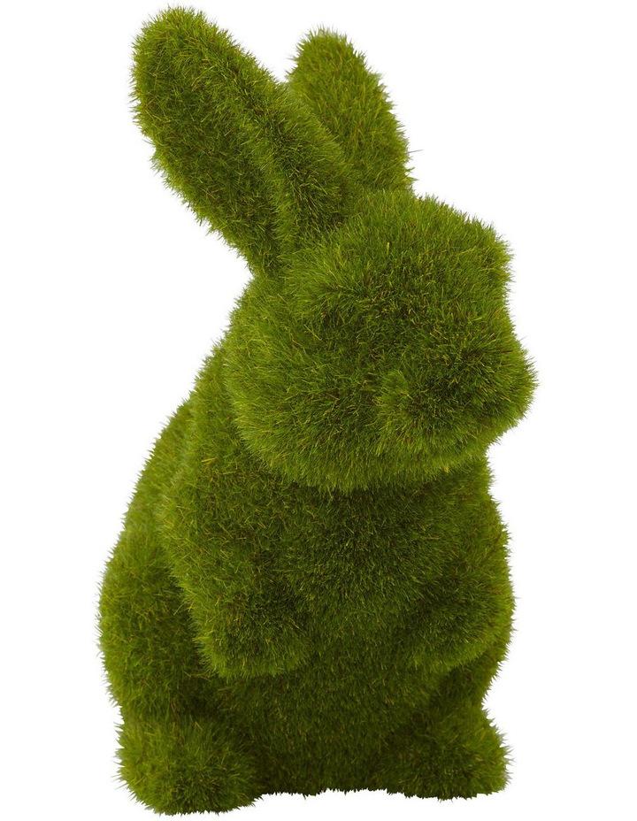 Rogue Moss Bunny Sitting 14x10x18cm image 1