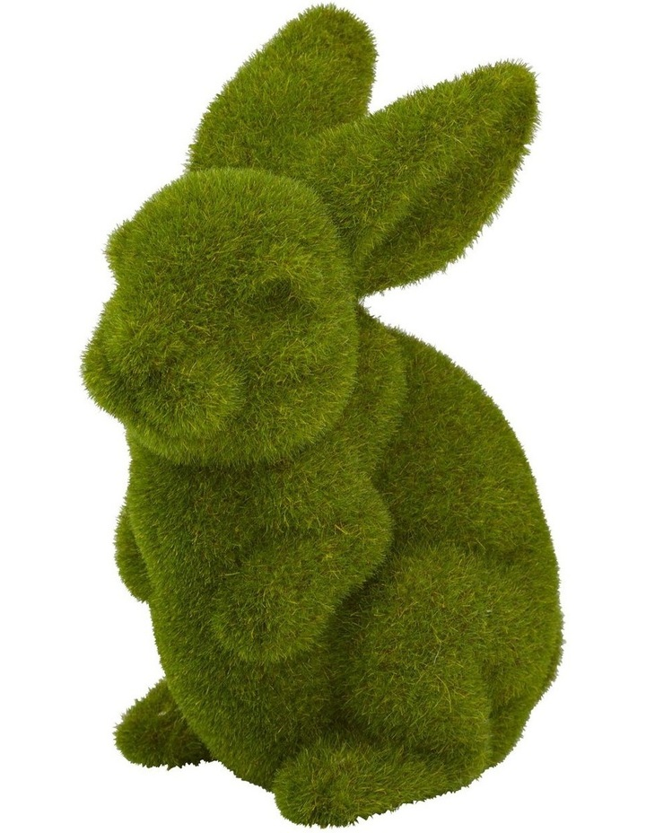 Rogue Moss Bunny Sitting 17x12x23cm image 1