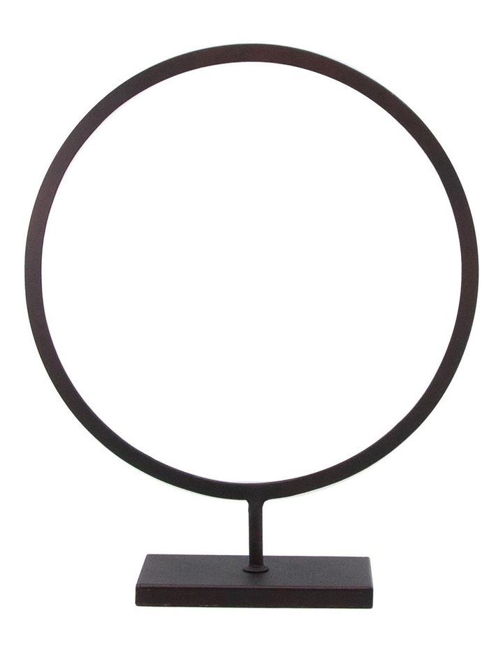 Annulet Circular Sculpture 31x38cm image 1