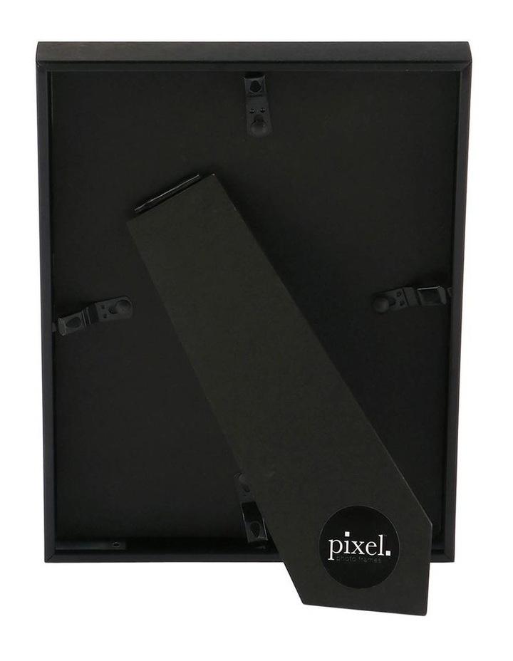 Pixel Black Platinum Metal Frame 18x23cm with 13x18cm opening image 3