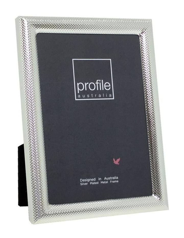 Profile Photo Frame Isabella Silver 5x7 image 1