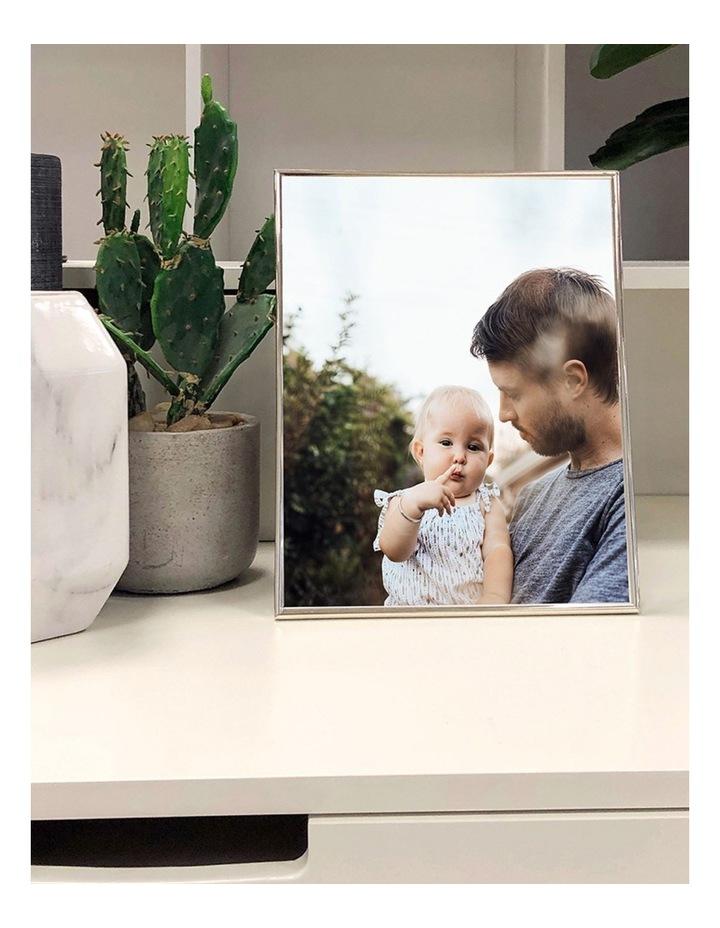"Profile Photo Frame Habitat Silver 8x10"" (20x25cm) image 3"