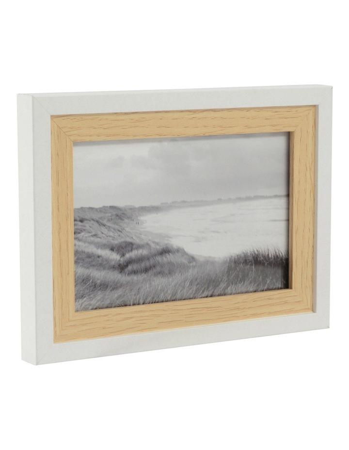 Capture   Oakville Set Of 7 Assorted Frames In White And Oak   MYER