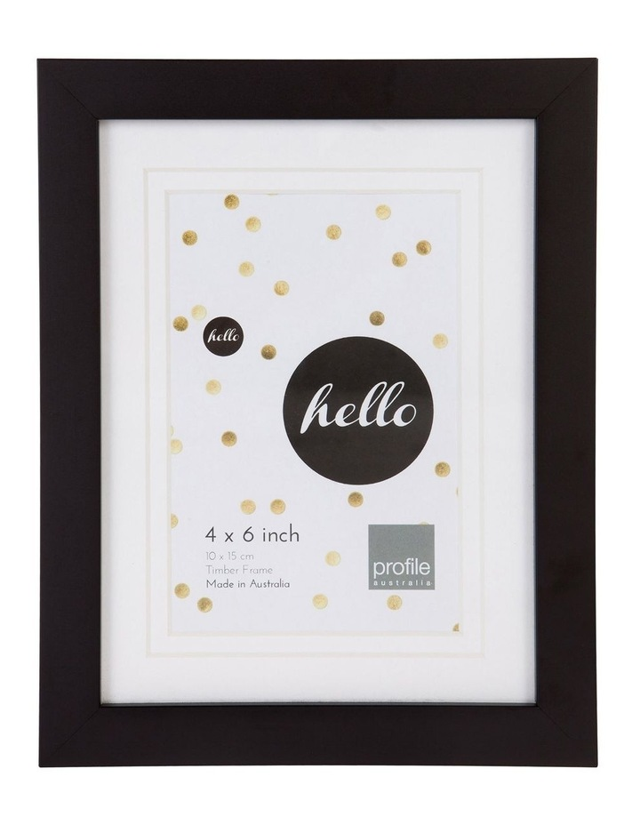 Deluxe Wooden Frame image 1