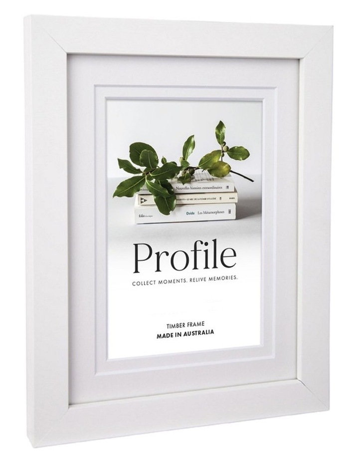 Deluxe White Timber Photo Frame image 2