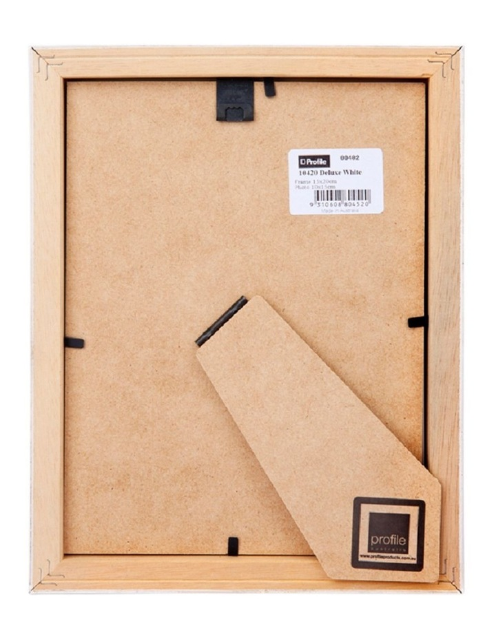 Deluxe White Timber Photo Frame image 3