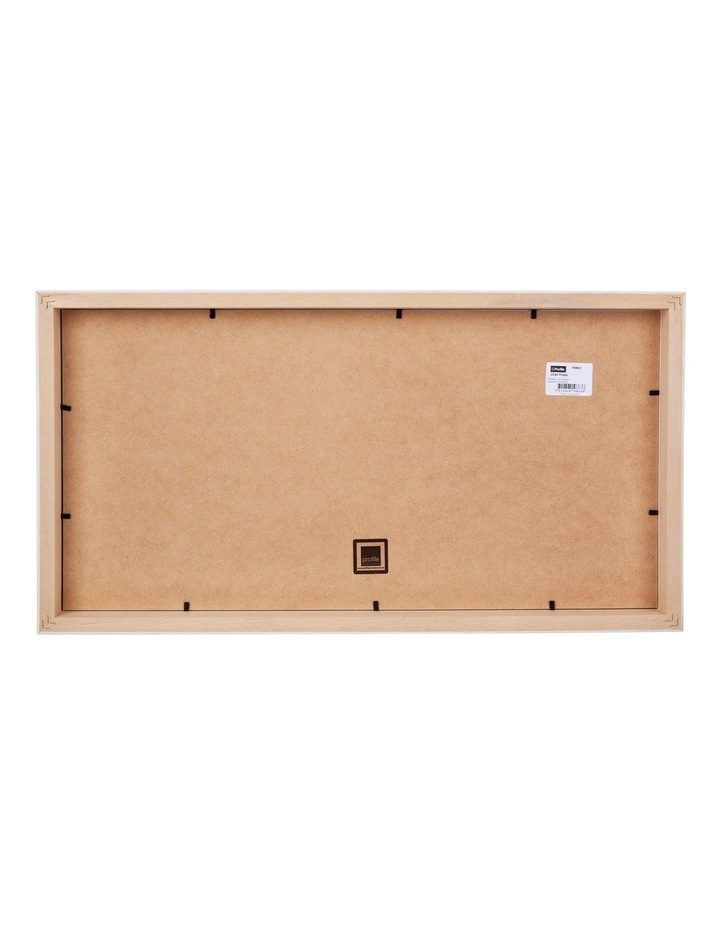"""Deluxe White Timber Photo Frame 10x20""""/5x7"""" (3) image 2"""