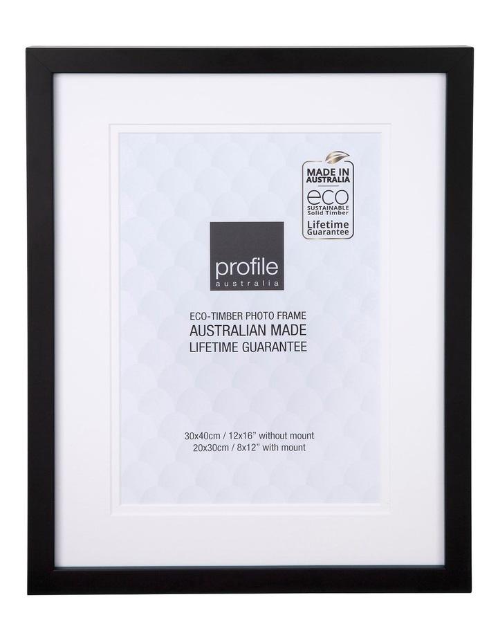 Australian Made 2040 Deluxe Black 12x16/8x12 image 1