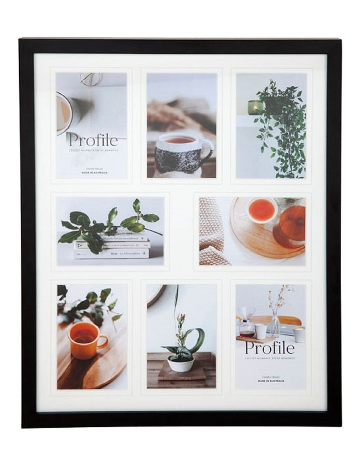 """Deluxe Black Timber Photo Frame 16x20""""/4x6""""(8) image 1"""