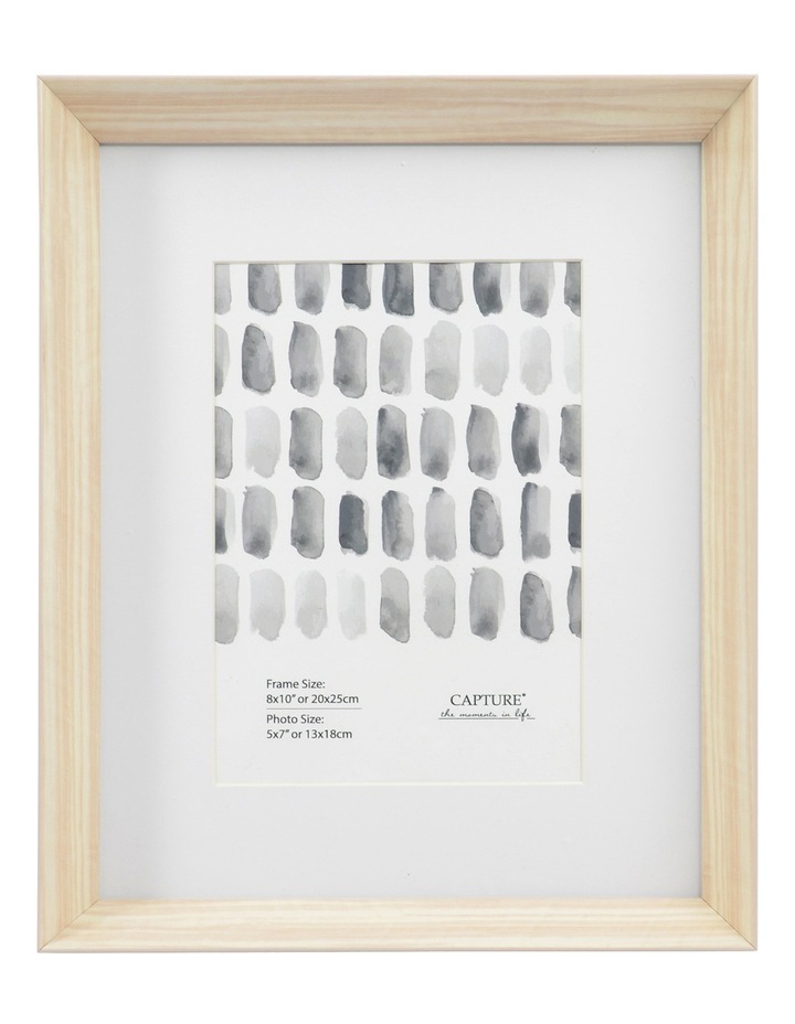 Jasmine 8x10cm With 5x7cm Opening Frame Grey image 1