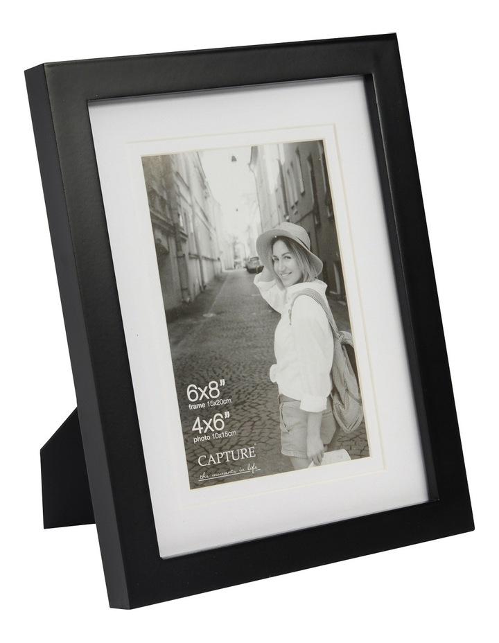 Explore 6x8cm Black with 4x6cm Opening Double Matt image 2