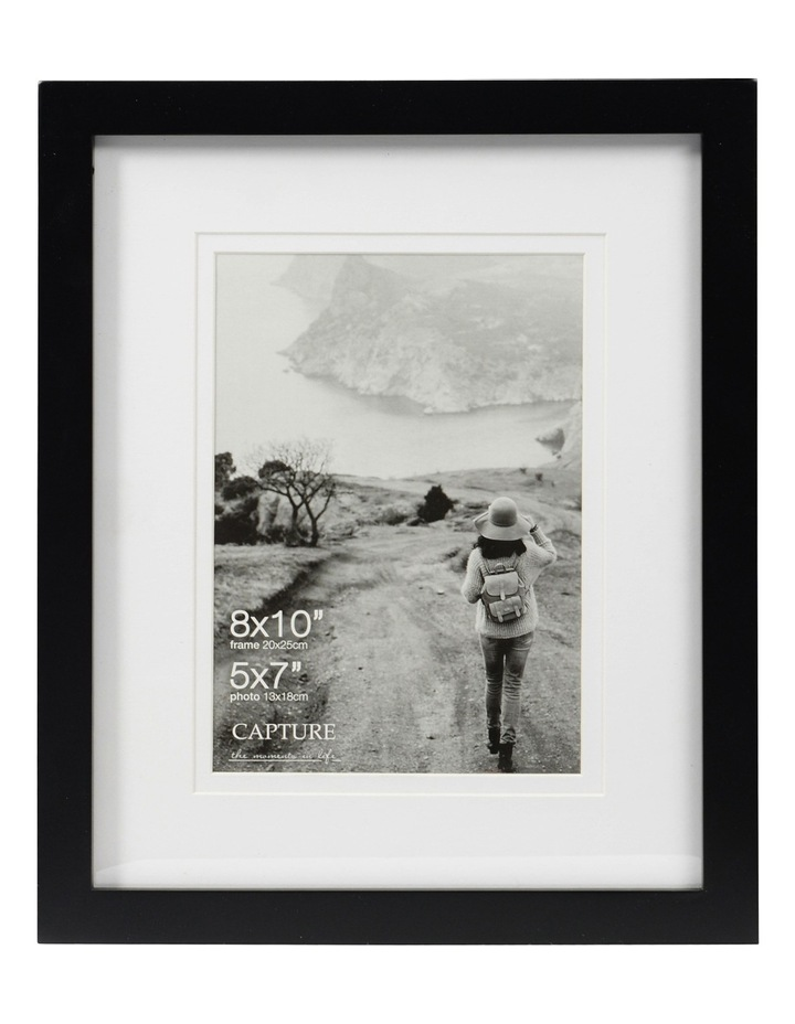 "Explore 8x10"" Black Frame with 5x7"" Opening image 1"