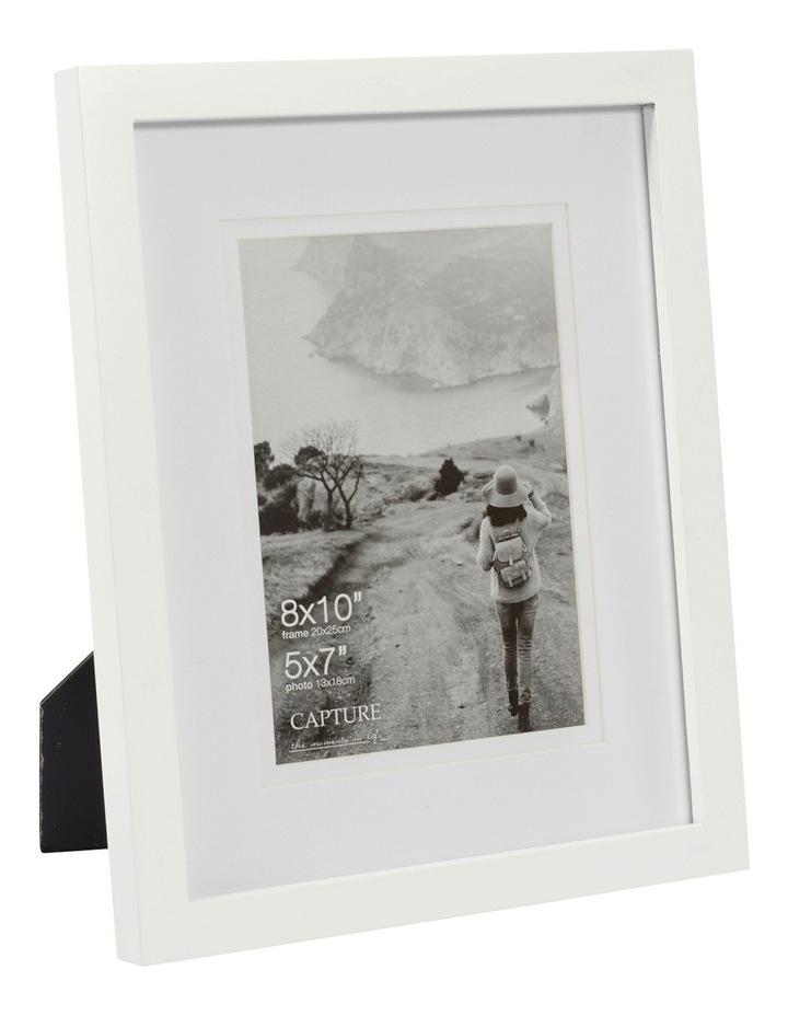 Explore 8x10cm White with 5x7cm Opening Double Matt image 2