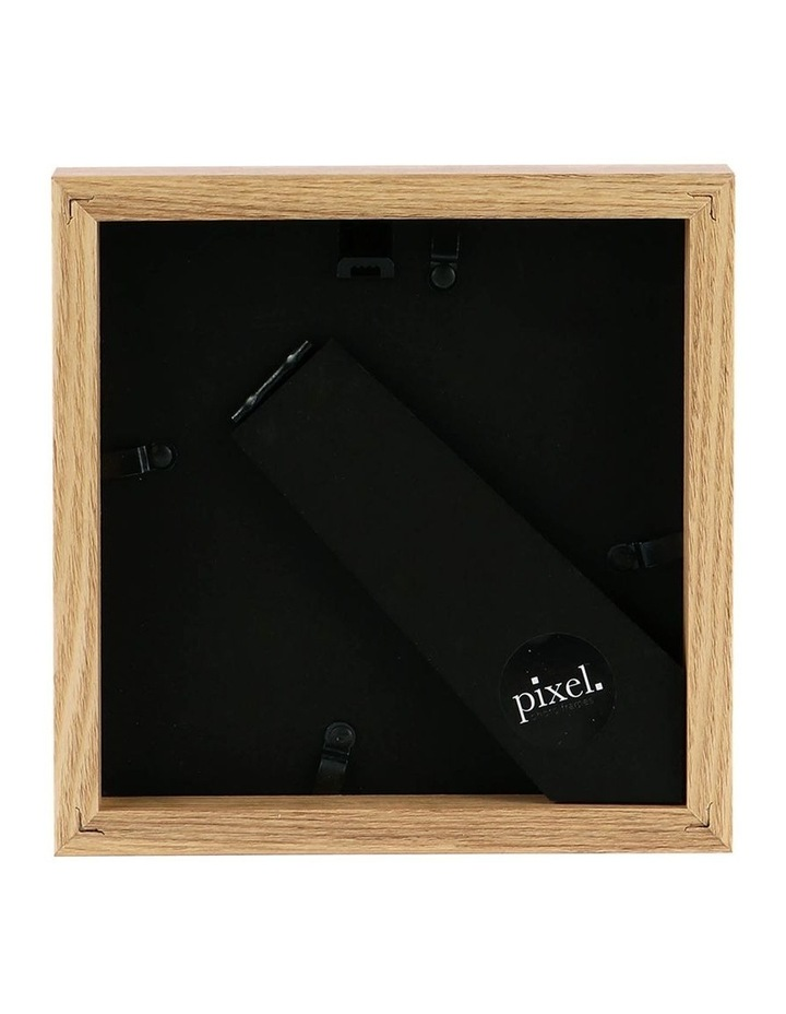 Pixel Natural Photo Frame 15x15cm with 10x10cm Opening image 2
