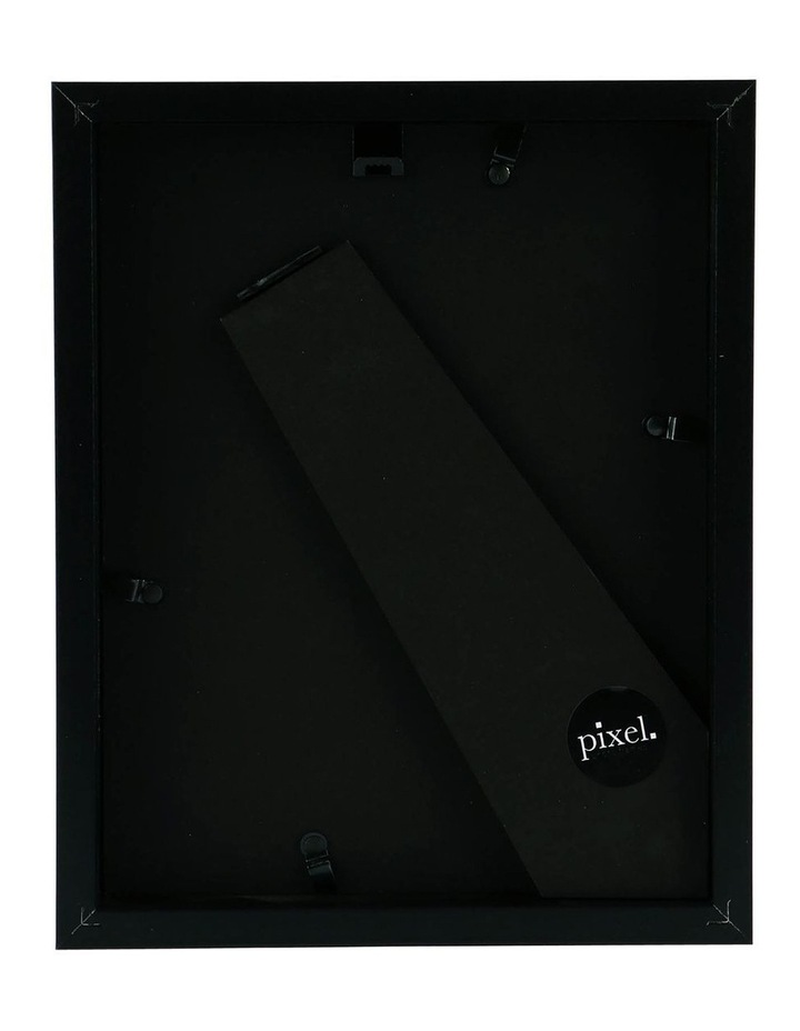 Pixel Black Photo Frame 18x23cm with 13x18cm Opening image 2