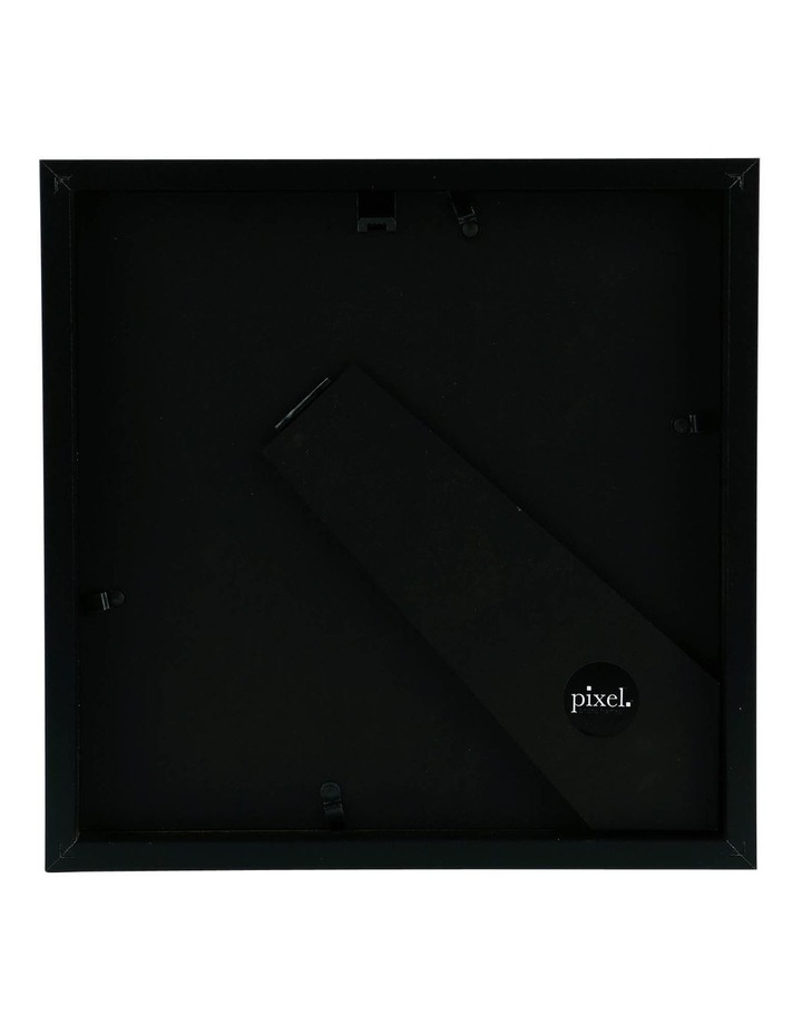 Pixel Black Photo Frame 25x25cm with 15x15cm Opening image 2