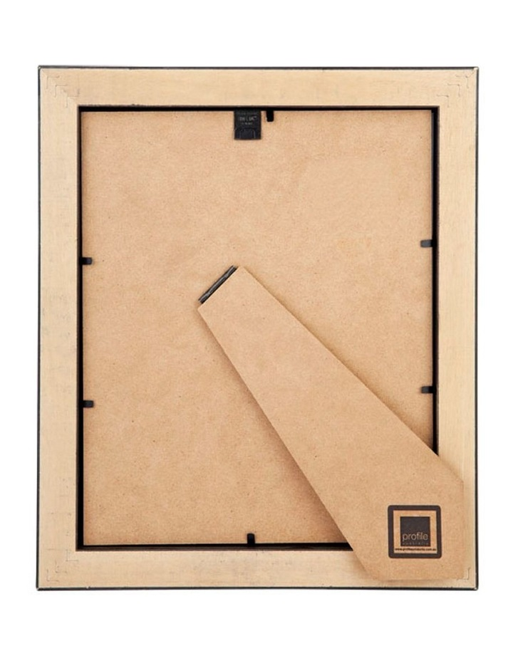 """Deluxe 6x8""""/4x6"""" Timber Photo Frame in Chestnut image 2"""