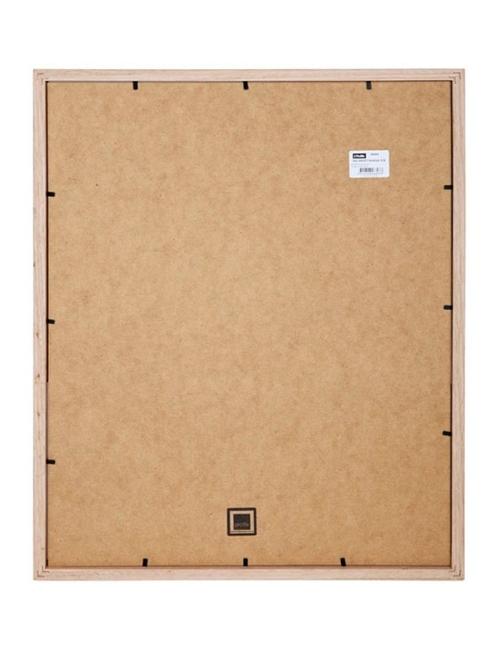 """Deluxe Chestnut Timber Photo Frame 16x20""""/4x6""""(8) image 2"""