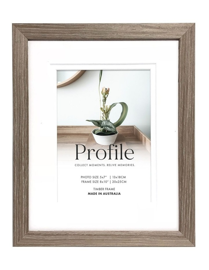 """Deluxe Stone Ash Timber Photo Frame  8x10""""/5x7"""" image 1"""