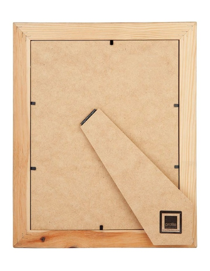 "Bonjour White Gold Timber Photo Frame 8x10""/5x7"" image 2"