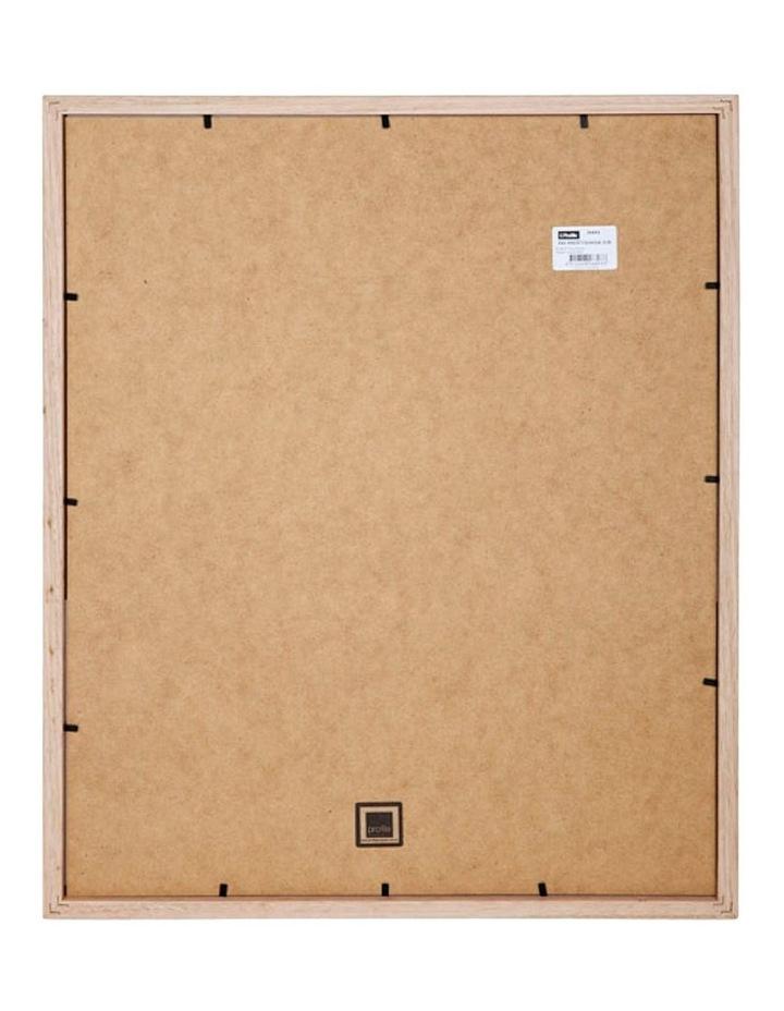 "Bonjour White Gold Timber Photo Frame 12x16""/8x12"" image 2"