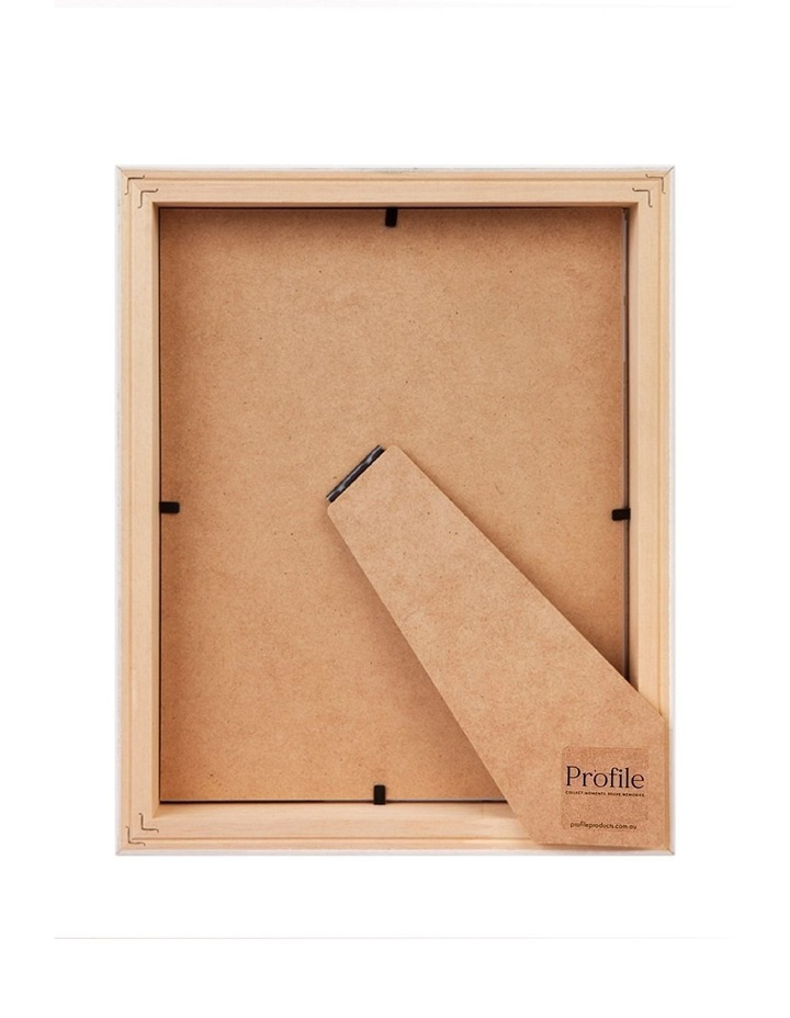 """Deluxe 6x8""""/4x6"""" Timber Photo Frame in Oak image 2"""