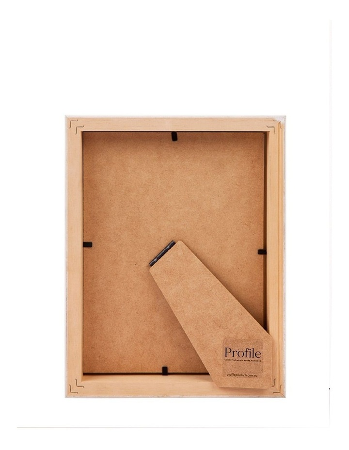 """Deluxe 8x10""""/5x7"""" Timber Photo Frame in Oak image 2"""