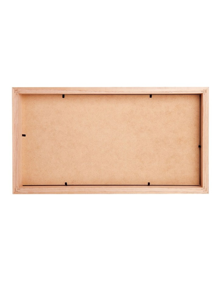 """Deluxe 10x20""""/5x7"""" (3) Timber Photo Frame in Oak image 2"""