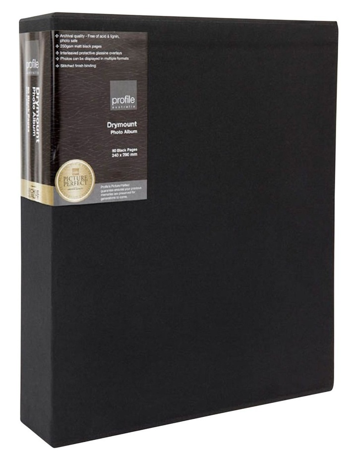 Regal Dry Mount Photo Album Black 240x290 80pp image 3
