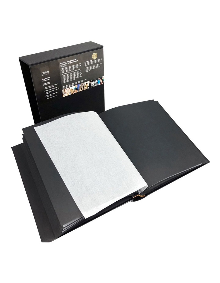 Regal Dry Mount Photo Album Black 240x290 80pp image 4