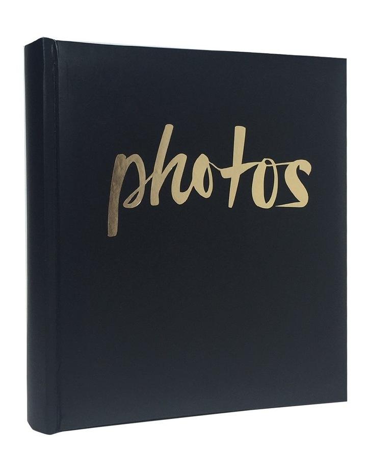 "Moda Photo Album Black 200x 4x6"" image 1"