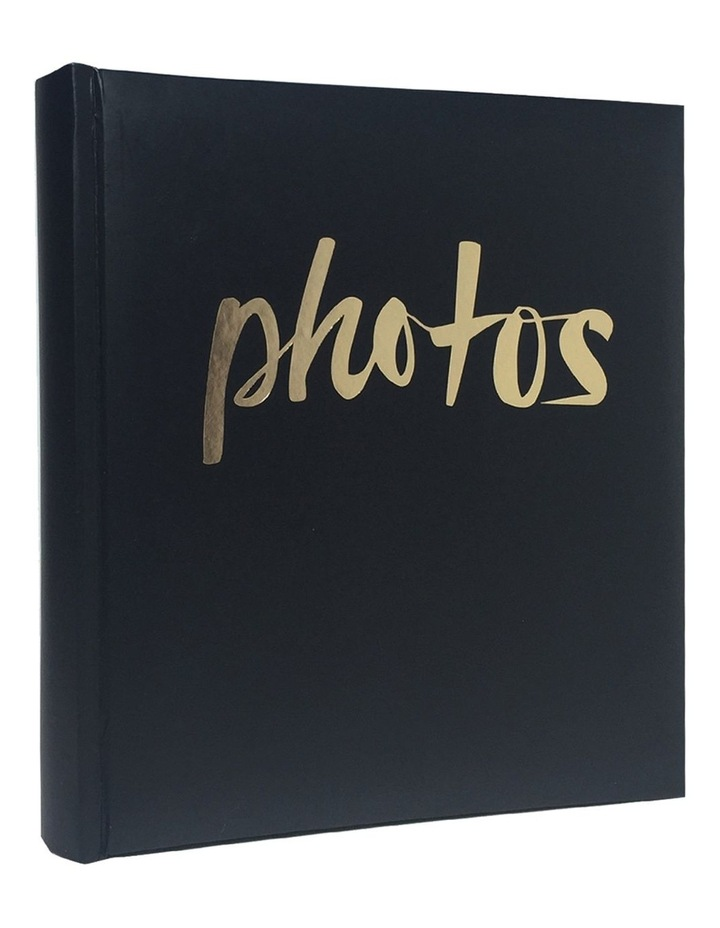 Moda 200x 4x6in (10x15cm) Photo Album in Black image 2