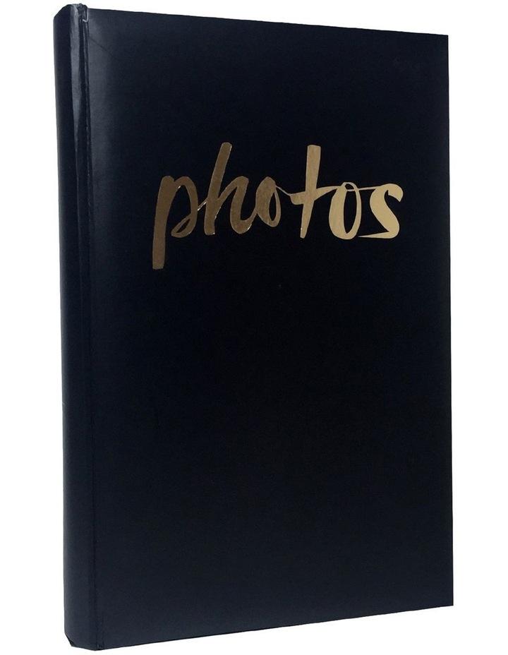 Moda 300x 4x6in Photo Album in Black image 2