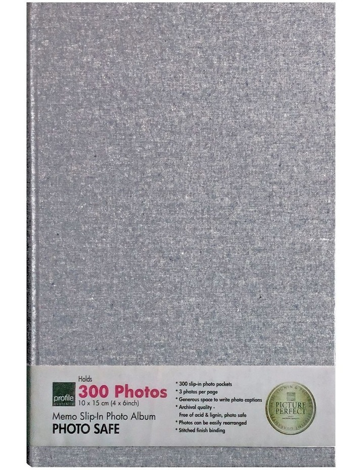 Profile Photo Album Plush - 300 Capacity - Denim image 1