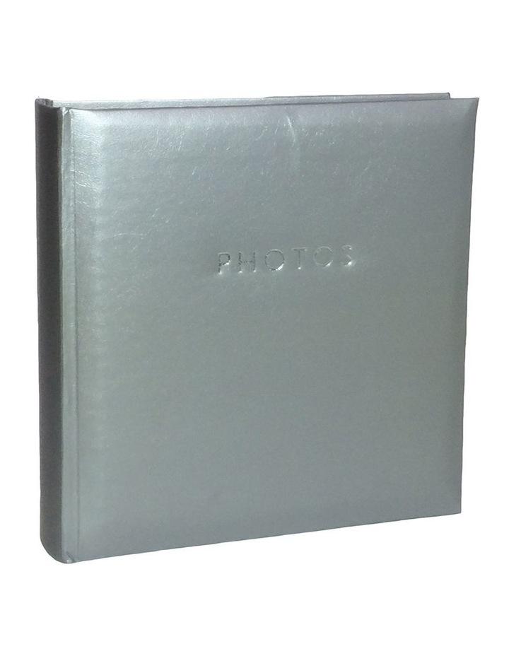 "Glamour Photo Album Silver - 200 4x6"" (10x15cm) Photo Capacity image 1"