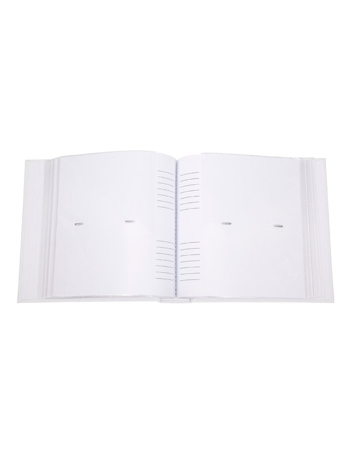 "Glamour Photo Album Silver - 200 4x6"" (10x15cm) Photo Capacity image 2"