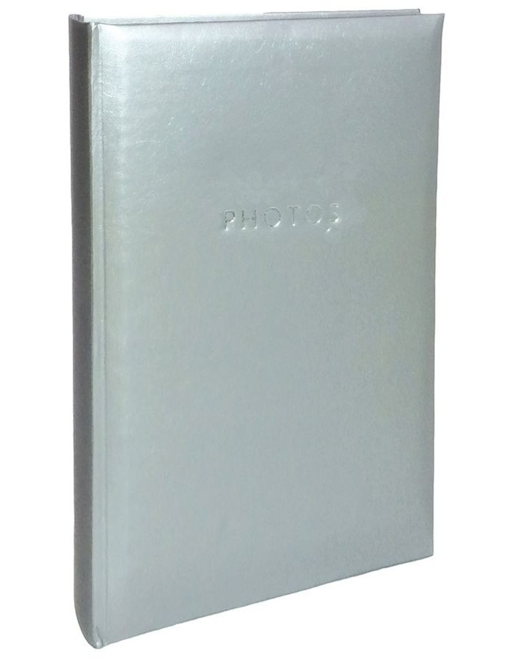"Glamour Photo Album Silver - 300 4x6"" (10x15cm) Photo Capacity image 1"