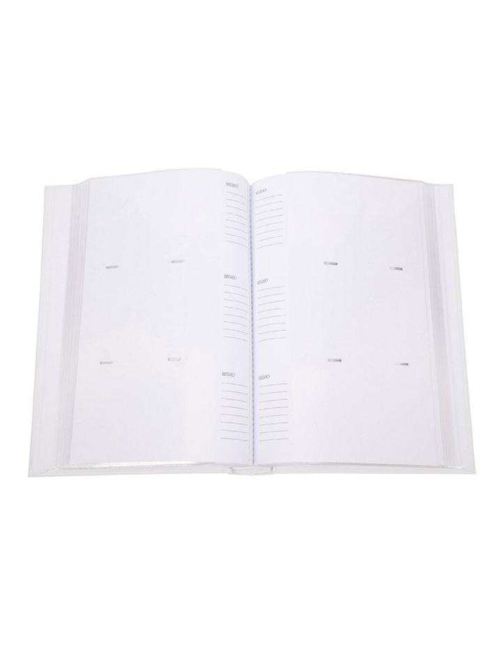 "Glamour Photo Album Silver - 300 4x6"" (10x15cm) Photo Capacity image 2"