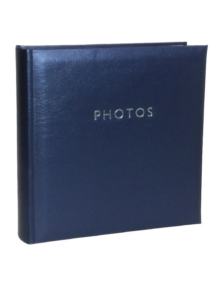 "Glamour Photo Album Blue - 200 4x6"" (10x15cm) Photo Capacity image 1"