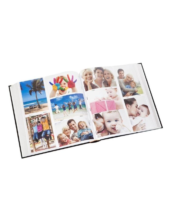 Moda 500 4x6in (10x15cm) Photo Capacity Photo Album in Black image 2